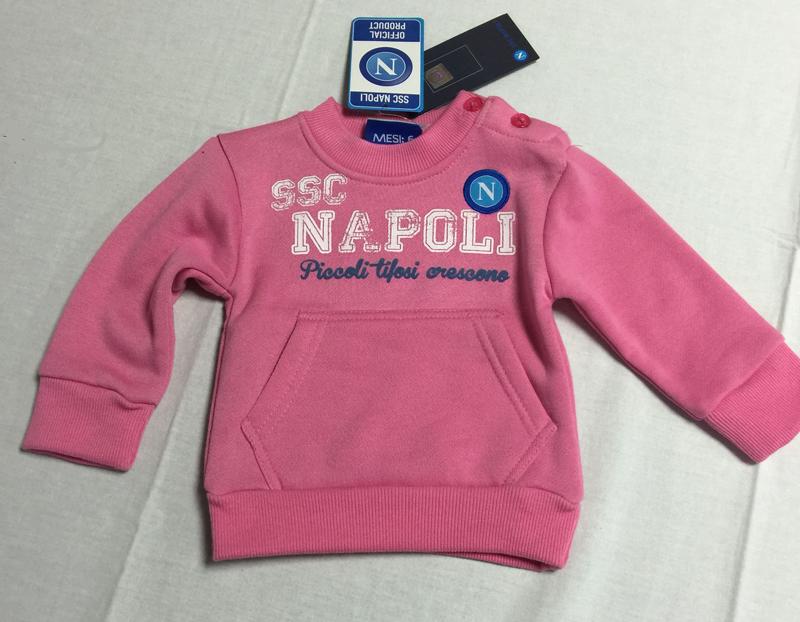 felpa Napoli merchandising