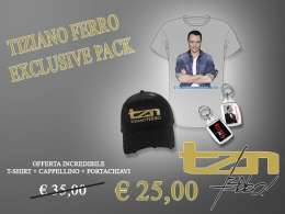 TIZIANO FERRO - EXCLUSIVE PACK