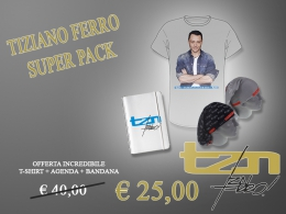 TIZIANO FERRO - SUPER PACK