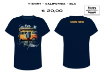 T-SHIRT - CALIFORNIA - NAVY