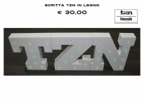 LOGO TZN IN LEGNO - LIMITED EDITION